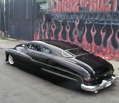 """Long and low - 49 Mercury - also known as the """"Lead Sled"""" Lead Sled, 49 Mercury, Mercury Cars, Automobile, Hot Rides, Us Cars, Sport Cars, Ford Motor Company, American Muscle Cars"""