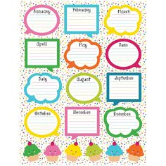 Recognize special events in your learning environment. The School Pop Birthday chartlet offers a fun way to remember your students' birthdays. A time-saving reference tool that coordinates with the Sc Birthday Chart Classroom, Birthday Bulletin Boards, Birthday Charts, Birthday Board, Birthday Wall, Classroom Supplies, Classroom Themes, Classroom Organization, Space Classroom