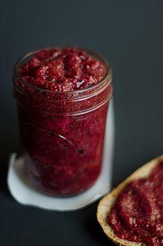 Cherry Berry Chia Jam | Live Eat Learn