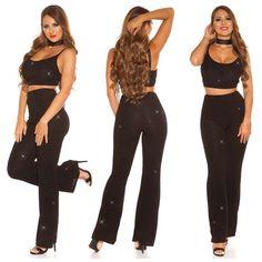 Partyhose von agfashion.de Jumpsuit, Pants, Dresses, Fashion, Fashion Styles, Overalls, Trouser Pants, Vestidos, Moda