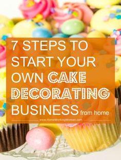Cake Decorating Business