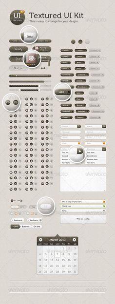 Textured UI Kit