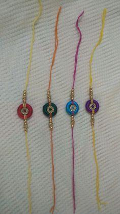 HappyShappy - India's Own Social Commerce Platform Silk Thread Necklace, Thread Jewellery, Tassel Necklace, Jewelry, Handmade Rakhi Designs, Handmade Design, Quilling Rakhi, Crochet Bag Tutorials