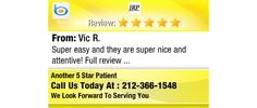 Super easy and they are super nice and attentive! Full review