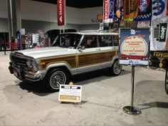"Reid Puckett's ""Woody"" at the ATL International Auto Show"