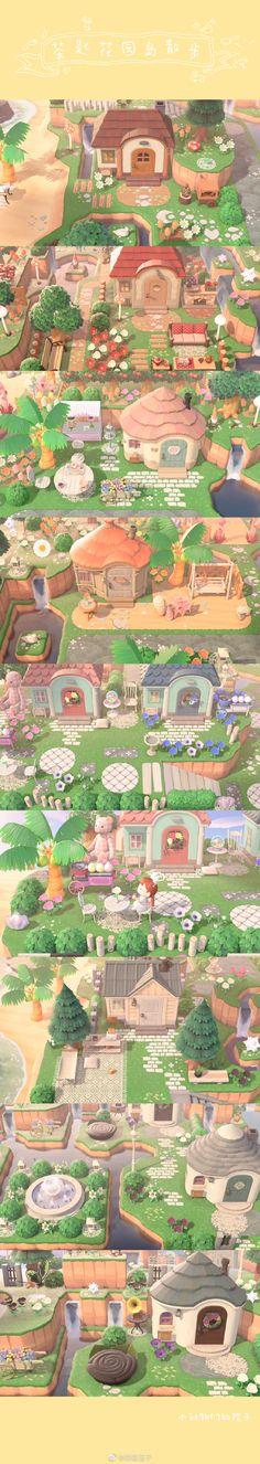 Animal Crossing Guide, Animal Crossing Villagers, Pokemon Mew, Happy Home Designer, Little Island, Island Design, New Leaf, Paths, Scenery