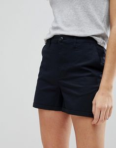 ASOS | ASOS DESIGN chino shorts in navy