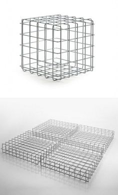 Iron coffee table LEYVA by Saba Italia | #design Giuseppe Viganò #furnituredesigns Steel Furniture, Table Furniture, Garden Furniture, Furniture Design, Iron Coffee Table, Coffee Table Design, Art Cube, Wire Installation, Italia Design