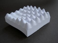Form, by Tavs Jorgensen. 3D printed in paper by Mcor