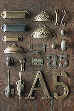 Antique Cabinets, Antique Hardware, Door Handles, Antiques, House, Furniture, Home Decor, Door Knobs, Antiquities