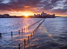 Weston Super Mare, Marine Lake, First Light by Finch_Photography, via Flickr Places To See, Places Ive Been, Ocean Springs, Weston Super Mare, Weekend Breaks, Sunset Pictures, Beach Scenes, Holiday Destinations, Somerset