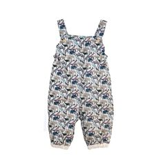 Liberty Print Dax Lined Romper | Coco&Wolf at @Kide