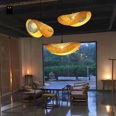 Bamboo Wicker Rattan Cap Pendant Light Fixture Vintage Hanging Ceiling Lamp Home Ceiling Lamp, Hanging Ceiling Lamps, Lamp, Pendant Lamp, Bamboo Roof, Pendant Light, Wicker, Pendant Light Fixtures, Hanging Lamp Design