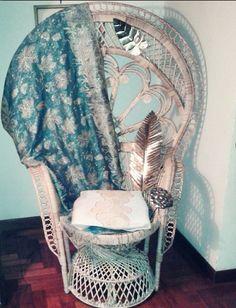 emmanuelle peacock chair potrona pavone home decor arredo vintage style