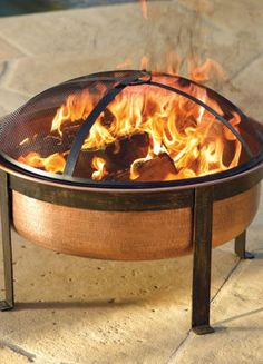 Fire Pit Fun for our backyard! We are shopping around for one, love sitting around a fire!