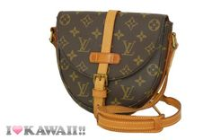 Auth Louis Vuitton Monogram Chantilly PM Shoulder Bag Hand Purse Free Shipping!