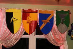 Hogwarts House Banners   Hogwarts house banners!   Flickr - Photo Sharing!