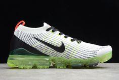 8183c0d7581069 Nike Air VaporMax Flyknit 3.0 White Black-Green AJ6900-100-6