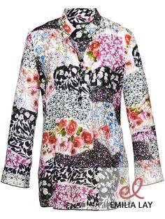 Blumen Bluse von Peter Hahn #flower power #blumenprint #blumenpower