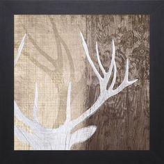 Tandi Venter-Deer Lodge ll 31 x 31 Framed Art Print - Overstock Shopping - Top Rated Prints