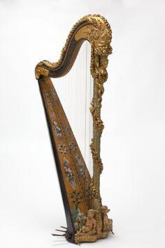Harp France, 1785 The Victoria & Albert Museum
