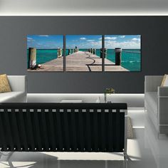 Bahamas Pier Wall Art