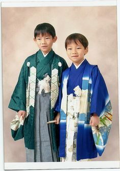 Japanese Culture - Shichi, Go, San - Yuki    This is a photo taken on the Shichi, Go, San festival. Shichi, Go, San is a festival (on November 15th) for children of three, five and seven years of age.