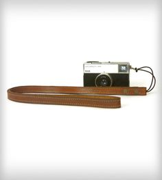 Leather Camera Strap | Gear & Gadgets Camera | Red Clouds Collective | Scoutmob Shoppe | Product Detail
