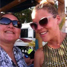 Busy Philipps selfie. Coachella 2014
