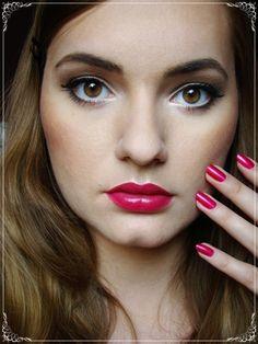"""Fearless by UsagiSekai on Makeup Geek - showing Makeup Geek Lipstick in """"Fearless"""""""