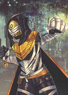 Destiny - Trials of Osiris Hunter - Colorworld by Rob Thibodeau, @RThibs77