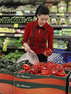 Dita grocery shopping