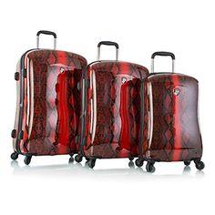 Heys Exotic Python Fashion Spinner 3-piece Luggage Set  http://www.alltravelbag.com/heys-exotic-python-fashion-spinner-3-piece-luggage-set/