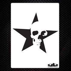 Skull Stencils Templates | Details about SKULL 18 airbrush stencil template motorcycle chopper ...