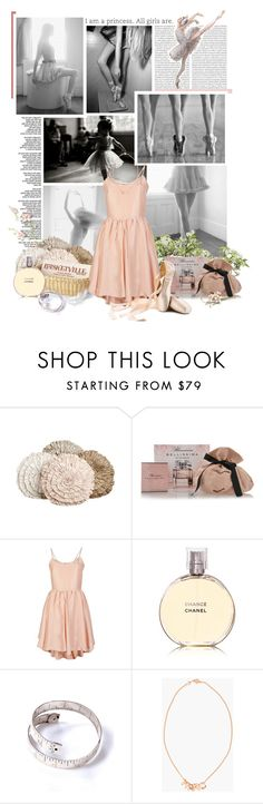 """Ballerina"" by nicerose ❤ liked on Polyvore featuring Oris, Ann Gish, INC International Concepts, Blumarine, G.V.G.V., Chanel, Marc by Marc Jacobs, ballet, dance and ballerina"