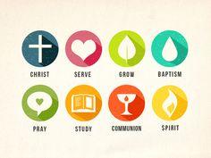 Dribbble - Church Icons by Megan Watson