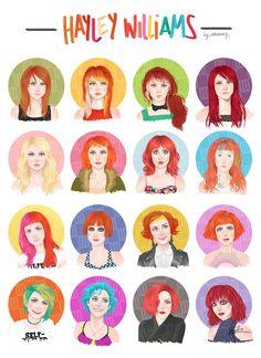 Imagen de paramore, hayley williams, and hair Hayley Paramore, Paramore Hayley Williams, Emo Bands, Music Bands, Estilo Hayley Williams, Britney Spears, Hayley Wiliams, Idole, Mayday Parade