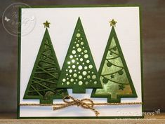 Want to know more about Homemade Cards Company Christmas Cards, Stamped Christmas Cards, Christmas Gifts To Make, Christmas Card Crafts, Christmas Cards To Make, Xmas Cards, Handmade Christmas, Holiday Cards, Paper Cards