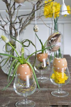 ABOUT VERENA : DIY: Ideen für den Ostertisch / DIY - Ideas for Easter #craftsbyverena