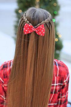Upward Lace Braid   Cute Girls Hairstyles