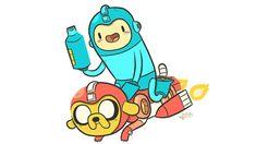 screengrab - Mega Man Meets Adventure Time, And I Think My Heart Just Burst