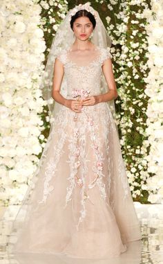 Reem Acra from Best Looks From Fall 2015 Bridal Collections