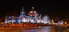 Christmas night, Belfast City Hall (2014)