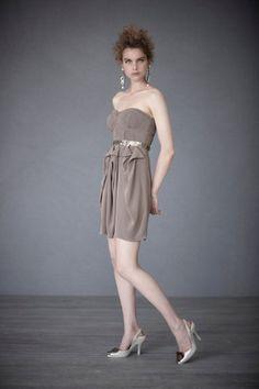 Sculptural corset dress