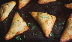 This recipe for Low-Carb Indian Vegetable Samosas can be part of low-carb, gluten-free, ketogenic, diabetic, Atkins, and Banting diets.