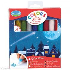 Rotuladores Colors Glitter Ice - Purpurina - 9 uds - Fotografía n°1