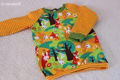 Mamahoch2: Basicschnitt: Raglan T-Shirt