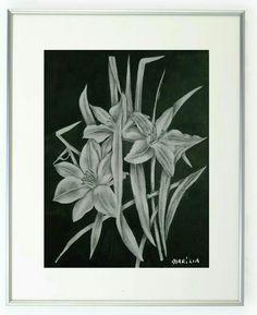 Desenho - grafite sobre papel - Marília Vidigal Carneiro