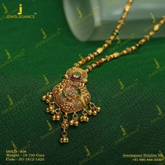 Gold 916 Premium Design Get in touch with us on Gold Necklace Simple, Gold Jewelry Simple, Gold Rings Jewelry, Gold Jewellery Design, Beaded Jewelry, Chain Jewelry, Diamond Jewelry, Gold Mangalsutra Designs, Antique Necklace