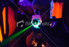 Laser Tag Royalty Free Stock Photo